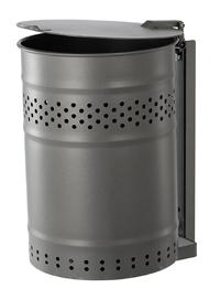 Abfallbehälter Modell Biel für Wandmontage
