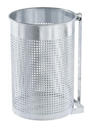 Abfallbehälter Modell Lausanne für Wandmontage
