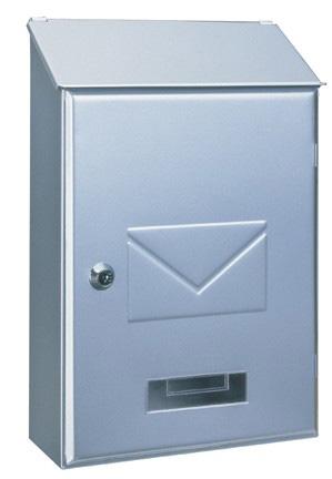 Briefkasten Pisa silber