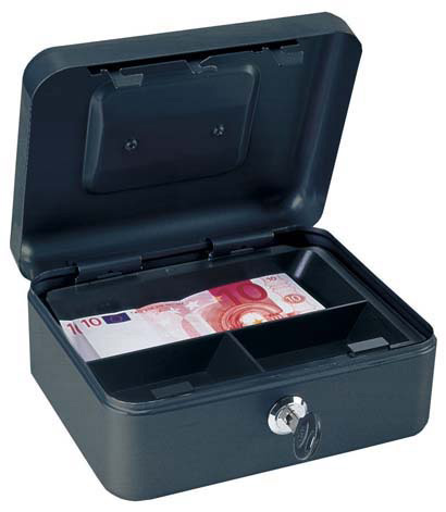 Geldkassette Traun 1 schwarz