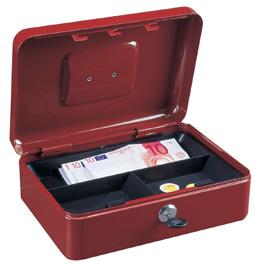 Geldkassette Traun-3 rot