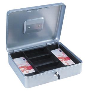 Geldkassette Traun-4 silber